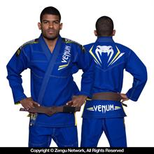 "Venum ""Elite"" Blue/Yellow BJJ Gi"